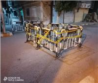 هبوط أرضى بمدينة العمال في قنا.. صور