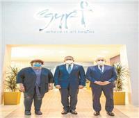 3 وزراء يؤكدون من «دبي»: رحلات العالم إلى مصر آمنة