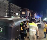 فحص25 قائد سيارة وإيجابية 3 سائقين لتحليل المخدرات فى «أسوان»