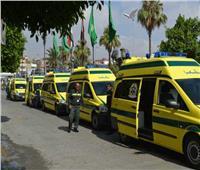 «الصحة»: 165 سيارة إسعاف مجهزة تتجه إلى قطاع غزة