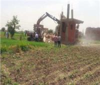 إزالات متكررة في قري مركز المحلة