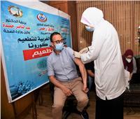 محافظ الغربية يشهد مبادرة «اللقاح أمان» لتطعيم العاملين بالمؤسسات الحكومية