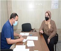 نائبا رئيس جامعة أسيوط يتلقيان الجرعة الثانية من اللقاح المضاد لفيروس كورونا