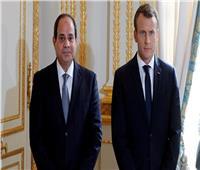 الرئيس الفرنسي يجدد دعمه للمبادرة المصرية لوقف التصعيد في غزة