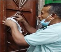 غلق 41 منشأة وغرامة فورية لـ288 مخالفة عدم ارتداء الكمامة بأسوان