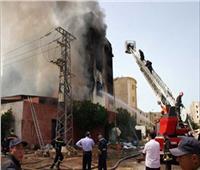 السيطرة على حريق في مخزن فايبر بالقليوبية