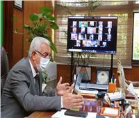 اجتماع طارئ لمجلس جامعة المنوفية «أون لاين»