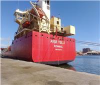 اقتصادية قناة السويس:  شحن 5250 طن «صودا كاوية» من ميناء غرب بورسعيد