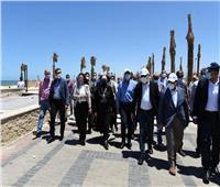 رئيس الوزراء يتفقد المشروعات الجاري تنفيذها بمحافظة دمياط