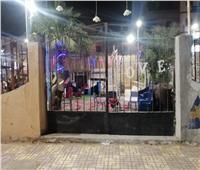 غلق 15قاعة أفراح ومقهى وتحرير 284 محضر عدم ارتداء الكمامة بالبحيرة
