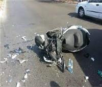إصابة شخصان بإصابات بالغة إثر حادث دراجة بخارية بالدقهلية