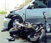 مصرع سباك إثر تصادم دراجة بخارية بسيارة في الدقهلية