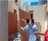 حملة مكبرة لمحافظة الإسماعيلية تحبط محاولتي بناء مخالف