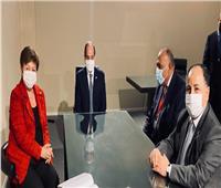 الرئيس السيسي يلتقي مدير عام صندوق النقد الدولي
