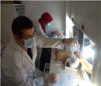 الكشف على ١٣٨٦ مريض فى قافلة علاجية مجانية بالبحيرة| صور