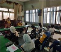 تدريب ميداني لطلبة « آداب المنيا» للمشاركة المجتمعية في كافة المجالات