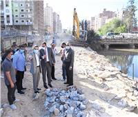 تطوير الكورنيش واستكمال رصف الطرق بمدينة طنطا   صور