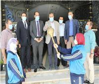 محافظ المنوفية يشهد إطلاق شعلة أولمبياد الطفل المصري في نسخته الثالثة