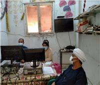 إقبال من المواطنين على تلقي لقاح كورونا بمحافظة قنا