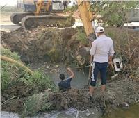 عودة المياه لقرى عامر وأبو عارف والعمدة بعد إصلاح كسور الخطوط المغذية