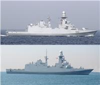 القوات البحرية المصرية والإيطالية تنفذان تدريباً بحرياً عابرًا.. صور