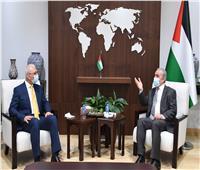 رئيس الوزراء الفلسطيني يشيد بمبادرة السيسي لإعادة إعمار غزة