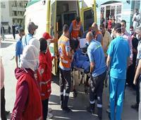 وصول 8 جرحى إلى معبر رفح للعلاج في مستشفيات شمال سيناء