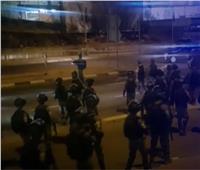 تعزيزات عسكرية إسرائيلية في «أم الفحم» بفلسطين.. فيديو