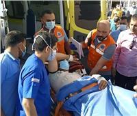 وصول الدفعة الثالثة من مصابي غزة إلى مستشفى العريش العام
