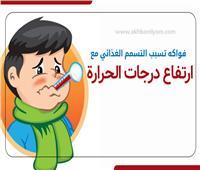 إنفوجراف| فواكه تسبب التسمم الغذائي مع ارتفاع درجات الحرارة