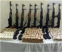 كوكتيل مخدرات وسلاح بحوزة 70 شخصًا بالجيزة
