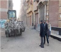 رفع 95 طن قمامة من مدينة قطور وقراها