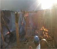 السيطرة على حريق «عشة» أعلى عقار بمنشأة ناصر