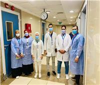 استقبال مراكز التطعيم بالعريشالمواطنين للحصول على لقاح كورونا