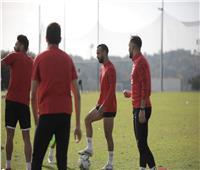 دوري أبطال إفريقيا| تقسيمة بطول الملعب في مران الأهلي
