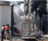 الاحتلال الإسرائيلي يستهدف مدينة غزة الصناعية.. ويدمر 13 مصنعا