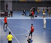 وزير الرياضة يشهد افتتاح بطولة كأس العرب لكرة قدم الصالات بـ 6 أكتوبر