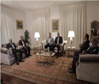 محمود الخطيب يلبي دعوة عشاء السفير المصري في جنوب إفريقيا