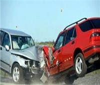 مصرع شخصين في حادث تصادم سيارتين بالصف