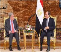 الرئيس السيسي: موقف مصر ثابت بشأن ضرورة إيجاد حل عادل للقضية الفلسطينية