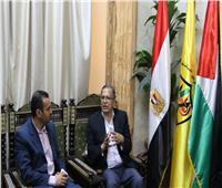 رئيس حركة فتح: مصر تاج الشرق.. ولا تتوقف عن دعم الشعب الفلسطيني | حوار