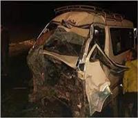 بالأسماء.. مصرع شخص وإصابة 16 في انقلاب سيارة بالبحيرة