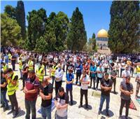 التليفزيون الفلسطيني ينقل شعائر صلاة الجمعة من المسجد الأقصى المبارك