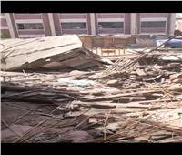 انهيار منزل بطنطا دون وقوع ضحايا