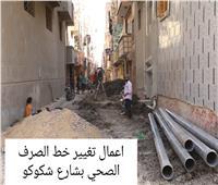 محافظ المنوفية يتفقد أعمال الرصف والتطوير بعدد من شوارع شبين الكوم | صور