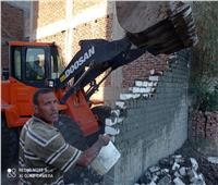 إزالة 3 محاولات بالبناء على أراض زراعية بأرمنت في الأقصر