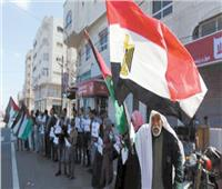 «مصر قلب العروبة النابض».. جهود للتهدئة وقوافل دعم للأشقاء الفلسطينيين