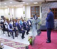 رئيس الإنجيلية يشهد رسامة شيوخ جدد لكنيسة كفر العلو الإنجيلية