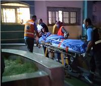 وصول 7 جرحى فلسطينيين من قطاع غزة للعلاج في مستشفى العريش