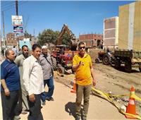 محافظ المنوفية يتابع أعمال الحفر لإنشاء مجمع للمصالح الحكومية